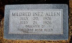 Mildred Inez Allen