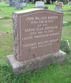 Sarah Ella <i>Burchard</i> Barber