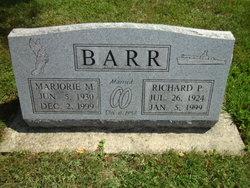 Marjorie M. <i>Houk</i> Barr