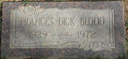 Frances <i>Dick</i> Blood