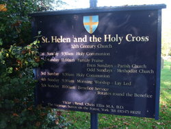 St Helen and the Holy Cross Churchyard