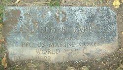 PFC Earl Elmer Barritt