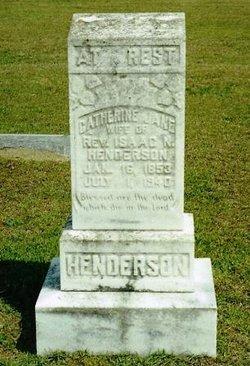 Catherine Jane <i>Bell</i> Henderson