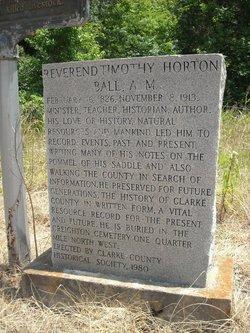 Rev Timothy Horton Ball