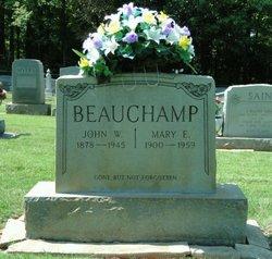 Mary <i>Sheek</i> Beauchamp
