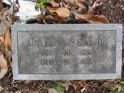 Adella M. <i>Lowe</i> Cannon