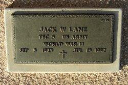 Jack W Lane