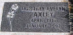 Dorothy Evelyn <i>Glover</i> Axley