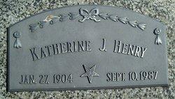 Katherine Jermina <i>Petersen</i> Henry