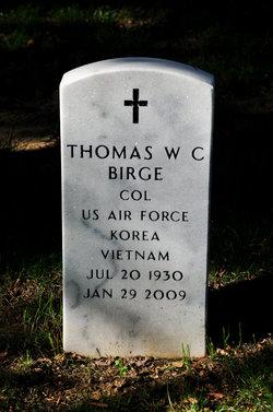 Thomas W C Birge