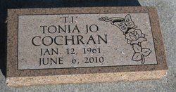 Tonia Jo T. J. <i>Wilson</i> Cochran