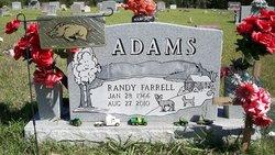 Randy Farrell Adams