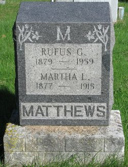 Martha L. <i>Feeler</i> Matthews