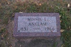 Wilhelmine L. Minnie <i>Nassen</i> Anklam