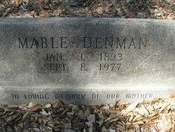 Mable Denman