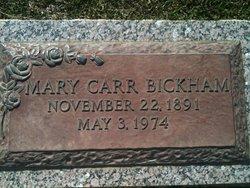 Mary Magdelene Madge <i>Carr</i> Bickham