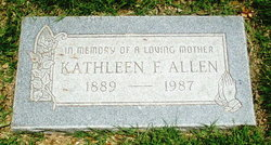 Kathleen F Allen