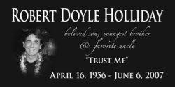 Robert Doyle Bobby Holliday