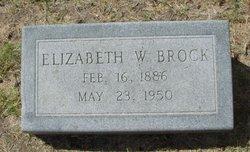 Elizabeth Abigail <i>Wilcox</i> Brock