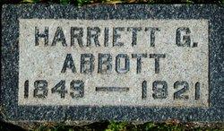 Harriet Janet <i>Silsby</i> Abbott