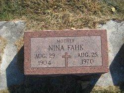 Nina Flora <i>Crump</i> Fahk