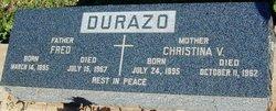 Christina <i>Valliz</i> Durazo