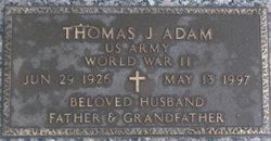 Thomas J Adam