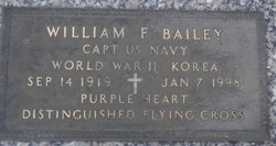 Capt William F Bailey