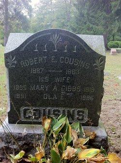 Mary A <i>Gibbs</i> Cousins