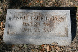 Annie Laurie <i>Albin</i> Bass