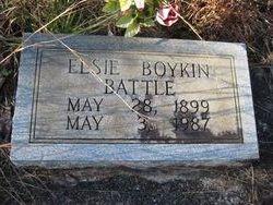 Elsie <i>Boykin</i> Battle