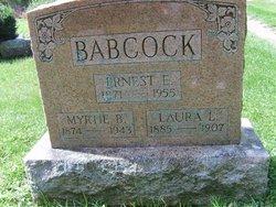 Ernest E Babcock