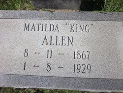 Matilda <i>King</i> Allen