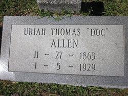 Uriah Thomas Doc Allen