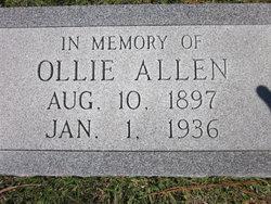 Ollie P. Allen