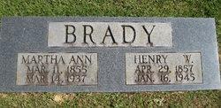 Martha Ann Brady