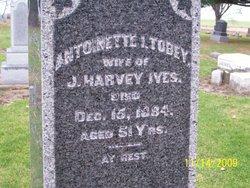 Antoinette <i>Tobey</i> Ives
