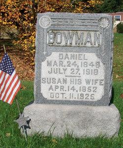 Pvt Daniel Bowman