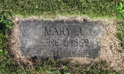 Mary A Stanley
