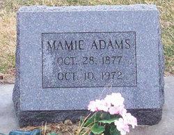 Mamie <i>VanWinkle</i> Adams