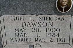 Ethel F. <i>Sheridan</i> Dawson