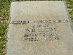Elizabeth <i>Longino</i> Vickers