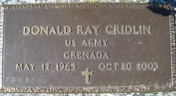 Donald Ray Cridlin
