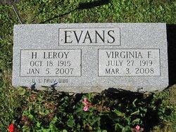 Virginia Faye <i>Bowser</i> Evans