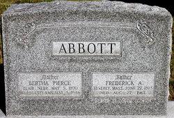 Bertha <i>Pierce</i> Abbott