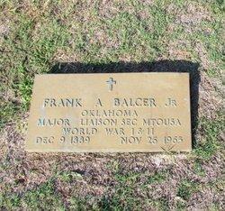 Frank A Balcer