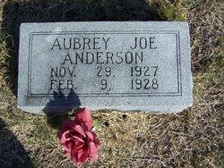 Aubrey Joe Anderson