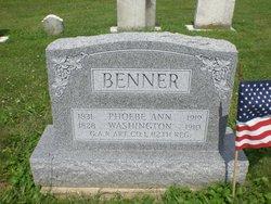 Phoebe Ann <i>Weiler</i> Benner