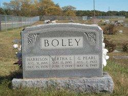 Bertha Lee <i>Prather</i> Boley
