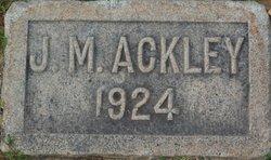 James Martin Ackley